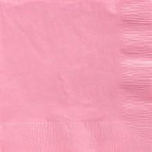 Servetit Vaaleanpunaiset 50-Pakkaus