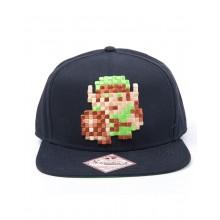 Zelda Snapback Lippis Link 8-bittinen