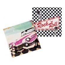 Servetit Rock 50-luku 12-pakkaus