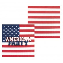 Servetit USA 12-pakkaus