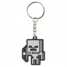 Minecraft Skeleton Sprite Nyckelring
