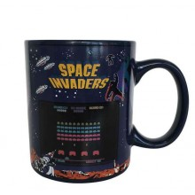 Space Invaders Lämpöherkkä Muki