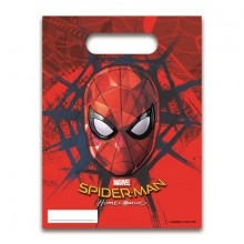 Spiderman Homecoming Makeispussit 6 kpl