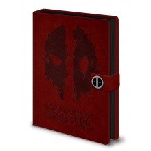 Deadpool Muistikirja Splat