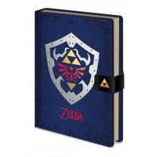 Zelda Hylian Shield Premium Muistikirja