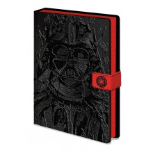 Star Wars Muistikirja Darth Vader Art