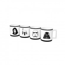 Star Wars Espressomukit 4-pakkaus