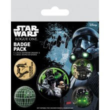 Star Wars Rogue One Badges 5-pakkaus the Empire