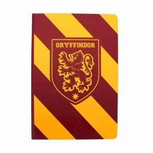 Harry Potter Muistikirja Gryffindor Stripes