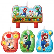 KynttilÄ Super Mario 4-Pakkaus
