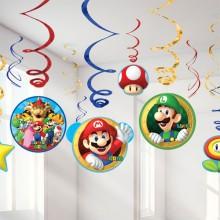 Koristesetti Super Mario 12-Pakkaus