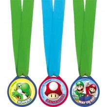 Super Mario Mitalit 12-Pakkaus