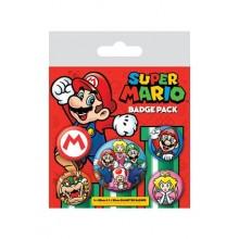 Super Mario Rintamerkit 5 Kpl