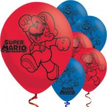 Ilmapallo Super Mario 6-Pakkaus