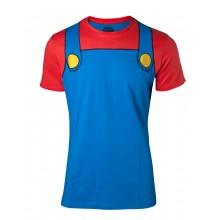 Super Mario Cosplay T-paita