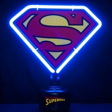 Superman Neonlamppu