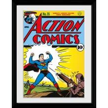 Superman Sarjakuvakansi Kehystetty 30 x 40cm