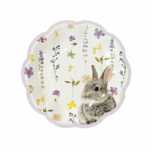 Lautaset Truly Bunny 12-pakkaus