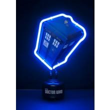 Doctor Who Tardis Neonlamppu