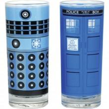 Doctor Who Dalek Ja Tardis Lasit