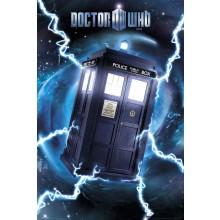 DR WHO - TARDIS METALLIJULISTE