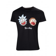 Rick And Morty T-paita Crazy Faces