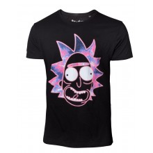 Rick And Morty T-paita Neon Rick