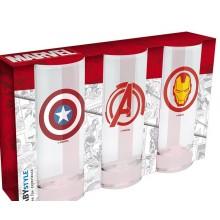 Marvel Lasit 3-pakkaus