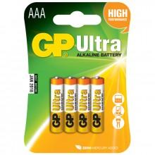 Ultra Alkaline AAA LR03 4 kpl pakkaus Paristoja