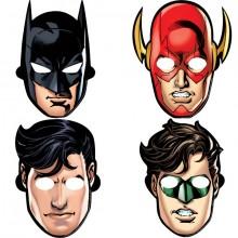 Naamio Justice League 8-Pakkaus