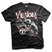 Venom T-paita (Musta)