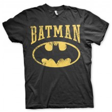 Vintage Batman T-Paita Musta