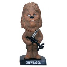 Star Wars Wacky Wisecrackes Bobble-Head Chewbacca 15cm