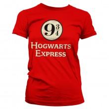 Harry Potter Hogwarts Express Naisten T-paita