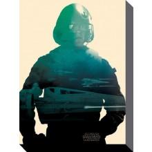 Star Wars Kanvaasi Poe 60 X 80 Cm