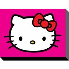 Hello Kitty Kanvaasi Violetti 60 X 80 Cm
