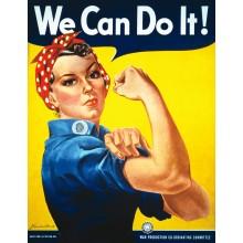We Can Do It Juliste 61 X 91,5 Cm