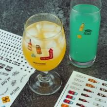 What´s My Drink Drinkkilasin Merkkaaja Tarrat 250 kpl