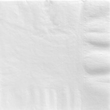 Servetit Valkoiset 20-Pakkaus