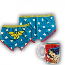 Wonder Woman Muki Ja Shortsi Setti