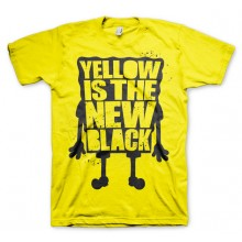 Yellow Is The New Black T-paita