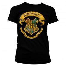 Harry Potter Hogwarts Crest Naisten T-paita