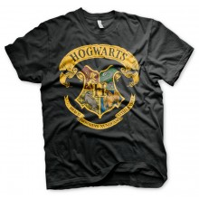 Harry Potter Hogwarts Crest T-paita