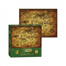 Pussel The Legend Of Zelda Hyrule Map