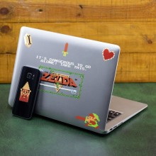 Zelda 8-bittinen Gadget Tarrat