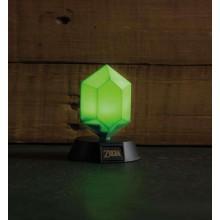 Zelda Green Rupee 3D Lamppu