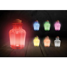 Zelda Potion Jar Light Lamppu