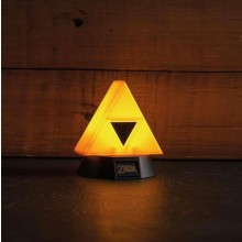 Zelda Triforce 3D Lamppu