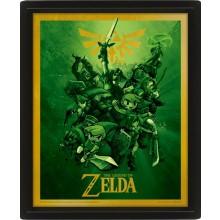 Zelda Linssimäinen 3D-taulu