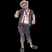 Zombie Koulupoika Naamiaisasu